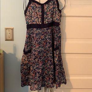 Lauren Conrad retro inspired dress